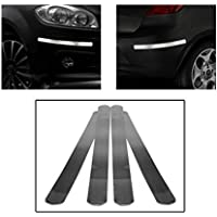 GrowAbout Car Safety Bumper Guard Protector Mirror Chrome - Universal for Cars