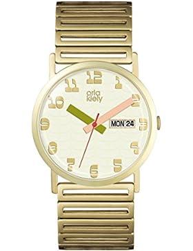 Orla Kiely Damen-Armbanduhr OK4056