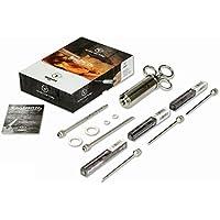 Moesta-BBQ BBQ-Spritze No.1 – Edelstahl Bratenspritze Inklusive 5 Nadeln für Alle Anwendungen