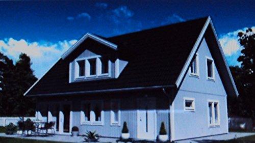 Preisvergleich Produktbild Farben-Budimex Industrie-Profi Wetterschutzfarbe, Dauerschutzfarbe, taubenblau / seidenmatt / 2,5 L