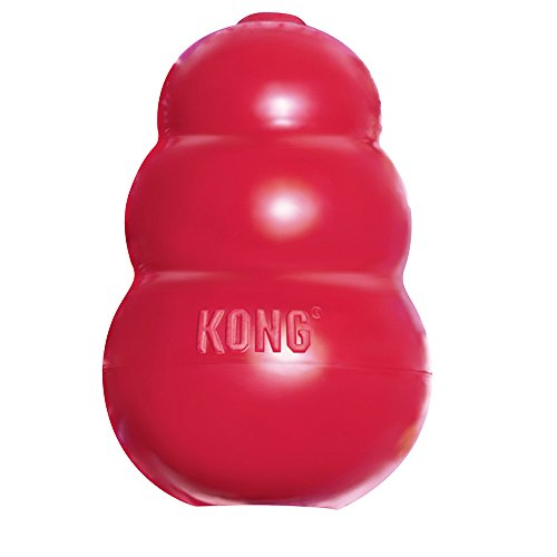 Kong Hundespielzeug, klassisches Design, Rot, Größe XXL