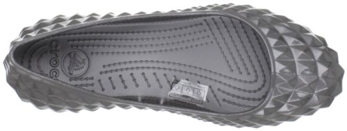 Crocs, Super Molded Patent Flat W, Ballerine, Donna GRAPH