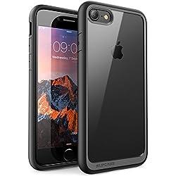 Coque iPhone 8, SUPCASE Unicorn Beetle Style Coque Transparente Anti-Choc de Protection Hybride [Résistant aux Rayures] pour Apple iPhone 8 2017 / iPhone 7 2016 (Noir)