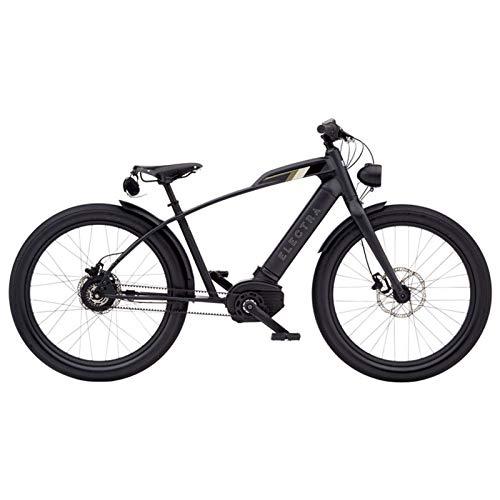 """Electra Cafe Moto GO! Herren eBike Elektro Fahrrad Bosch Performance CX Riemen Pedelec 26\"""" Cruiser, 572871"""