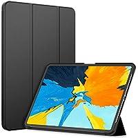 JETech FundaApple iPad Pro 11 Pulgadas (Lanzamiento 2018 Borde a Borde Pantalla Liquid Retina),SmartCoverAuto-Sueño/Estela,Negro
