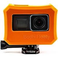 Bodhi Floaty, Schwimmende Hülle Für GoPro Hero 6 and Hero 5 Black, Orangefarbener Auftriebskörper Aus Hartgummi