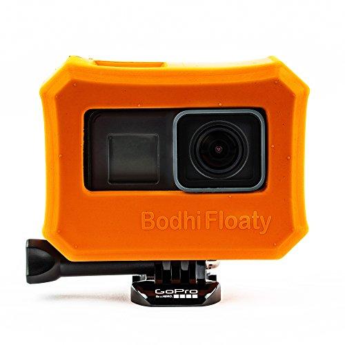 Bodhi Floaty - schwimmende Hülle für GoPro hero 7, Hero 6 und Hero 5 black - Orangefarbener Auftriebskörper aus Hartgummi - das perfekte Wassersport-Zubehör