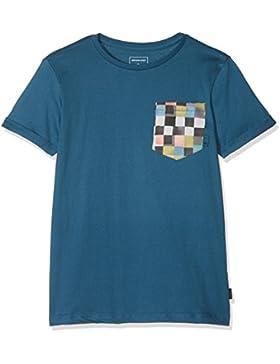 Quiksilver Classic Quadro Glide Camiseta, Niños, Negro, XS/8