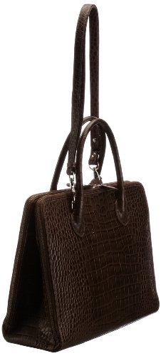 Osprey  Correspondent Polished Croc, sac à main femme Gris - Gris