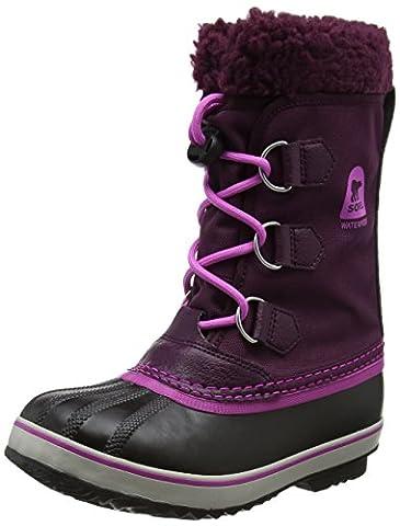 Sorel Yoot Pac Nylon, Bottes de Neige Fille, Violet (Purple Dahlia/Foxglove), 35 EU