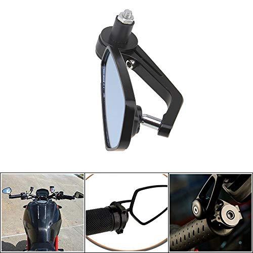 CX Best Universal 22mm Motorrad Seitenspiegel Mehrfach Verstellbarer Griffgriff HD Sichtfeld Keine komplizierte Installation erforderlich