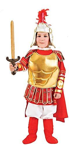 Costume di carnevale da gladiatore romano baby vestito per recite natalizie travestimento veneziano halloween cosplay festa party 1101 taglia 2