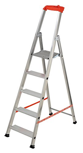 Standard SILBOR 1 Escalera 8 pelda/&ntildeos Fabricada en ESPA/&NtildeA EN 131 Aluminio