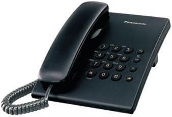 Panasonic KX-TS500MXBD Single Line Corded Phone (Black)