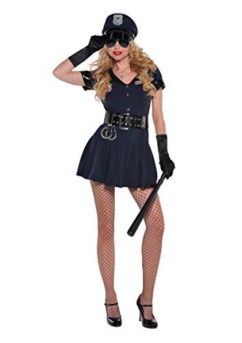 (Amscan Sexy Polizistin Kostüm (Klein))