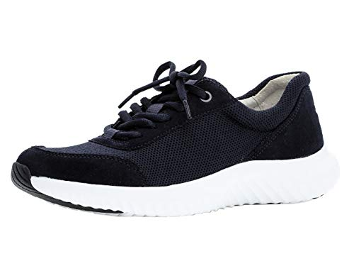 Gabor Damen Low-Top Sneaker 26.981.46, Frauen Halbschuh,Sportschuh,Schnürschuh,atmungsaktiv,Ocean,37.5 EU / 4.5 UK Mid Top Schuhe