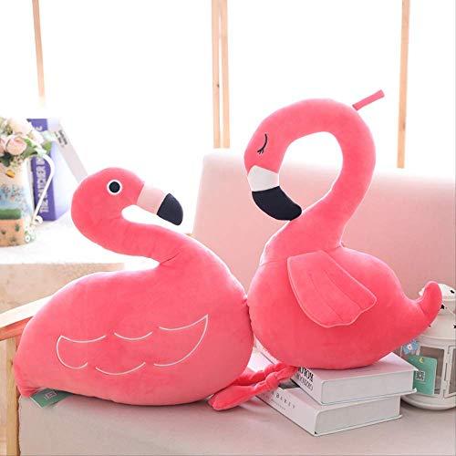 ZIQIAO Juguetes Peluche Simulación Flamingo Felpa