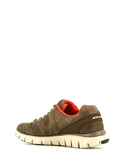 Skechers (SKEES) Skech-flex - Natural Vigor, baskets sportives femme brown (BROR)