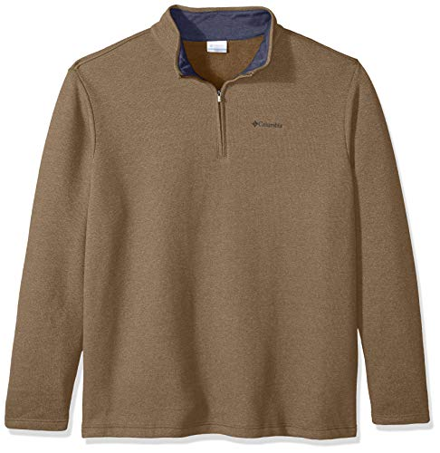 Columbia Herren Hart Mountain III Big & Tall Half Zip Pullover, Delta Heather, X-Large Hoch