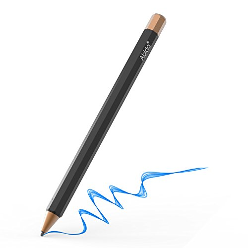 Abida Stylus kompatibel mit iPad, Touchscreen-Stift mit Feiner Faser Spitze, Wiederaufladbar, Benötigt keine App oder Bluetooth für iOS-Geräte, besonders kompatibel für iPad, iPhone, iPad Pro - Orange
