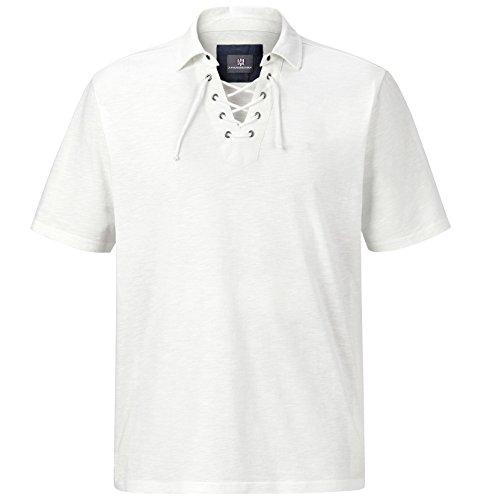 Jan Vanderstorm Herren Poloshirt Alvin in 100% Baumwolle. Trendiges Herren Polo Shirt Kurzarm, Erhältlich bis Größe 74 (5XL). Hergestellt in der EU