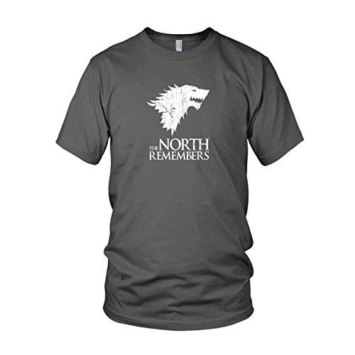 GoT: The North Remembers - Herren T-Shirt Grau