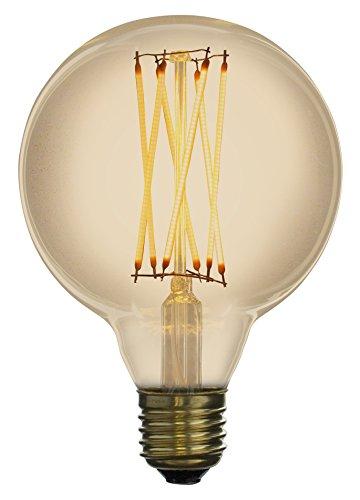 Led Zen LZG2041A Ampoule décorative LED à filament Verre 4 W E27 Ambré