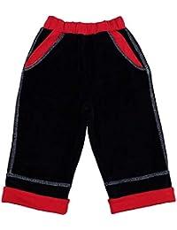 Chándal de terciopelo rojo oscuro azul Baby Boy Young Sport Hosen 9441