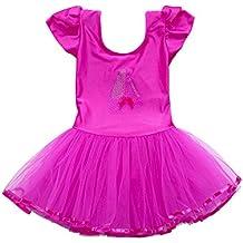 Xmiral Vestido de Ballet Tutú con Lentejuelas Brillantes con Braga Interior  para Niñas Dress de Baile 443c35d8f051
