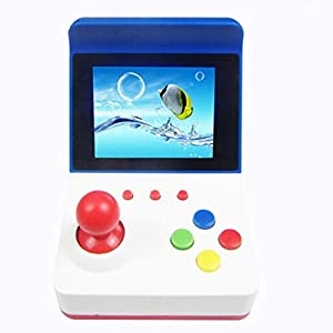 Handheld Spielkonsole, Handheld Game Console 3 Zoll Erbaut in 360 Klassische Mini Gaming Konsole Geburtstag Weihnachtsgeschenk für Kinder ( Weiß )
