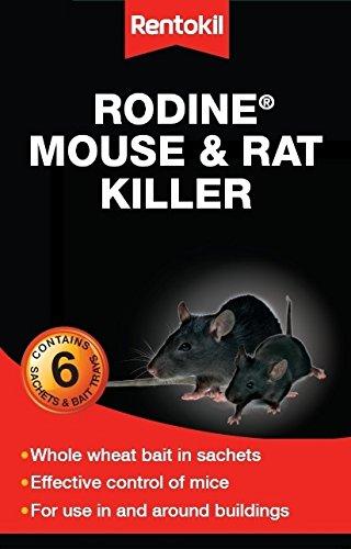 Rentokil Rodine Souris et Rat tueur 300g