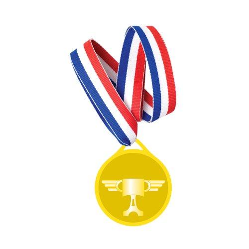 Amscan Medaille Disney Pixar Cars 6er ()