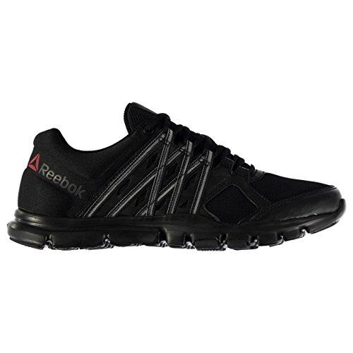 Reebok Herren Yourflex 8 Sportschuhe Turnschuhe Training Schuhe Sneaker Blk/Blk/Blk 9.5(44) (Reebok-herren-casual)