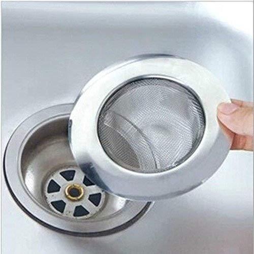 Filtro de acero inoxidable para fregadero, lavabo o ducha