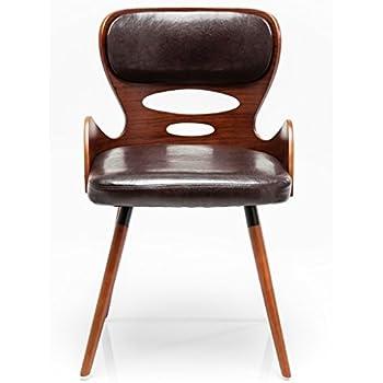 Stuhl econo very british rot gelb polsterstuhl esszimmer for Kare design stuhl costa