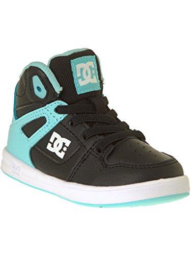 DC Shoes Rebound UL - Chaussures montantes pour garçon 320167 Noir