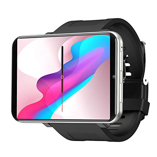 Famyfamy LEMFO LEM4 4G Smart Watch Phone Support GPS SIM Card MP4 Bluetooth WiFi Smartwatch Supper Big Screen Battery 3GB +32GB...