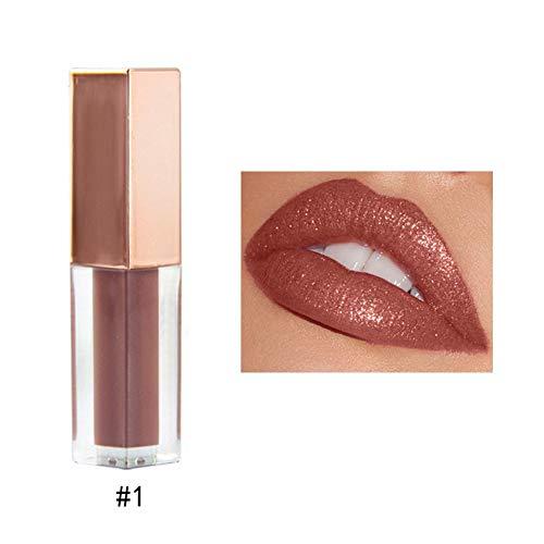 Lipgloss,IMJONO 2019 Jubiläum Göttin lippenstift 6 Farben Nude Velvet Glossy Lip-Gloss Lipstick Lip Cream Kosmetik-Make-up(one size,Mehrfarbig-A) -