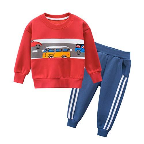 Comie Baby Winterkleidung Eingestellt, Baumwolle Baby Outfits Langarm Lange Hosen Stirnband Baumwolle Kleidung Trainingsanzug Lange Hosen, Kleinkind Sweatshirt Pullover Hemd übersteigt Hosen