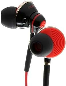 Ozone Oxygen Ecouteurs intra-auriculaires avec Microphone Noir