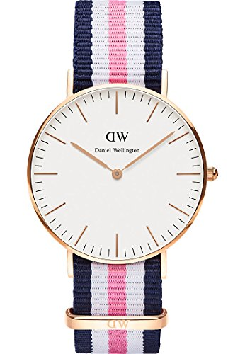 Daniel Wellington Daniel Wellington Damen-Armbanduhr Analog Quarz (One Size, weiß)