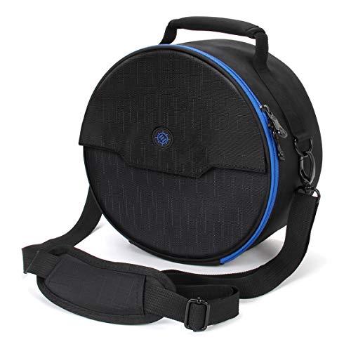 ENHANCE Gaming Headset Tasche für kabelgebundene & kabellose Bluetooth Wireless Kopfhörer gepolsterter Schutz mit Schultergurt & robustem Tragegriff - Travel Friendly Esports Design - Blau