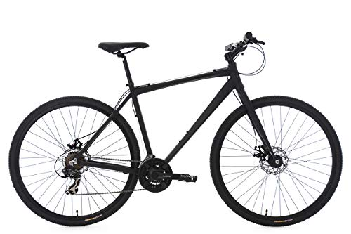 KS Cycling Cityrad Herren 28'' Urban-Bike UBN77 schwarz Alu-Rahmen RH 51 cm Fahrrad, 28 Zoll -