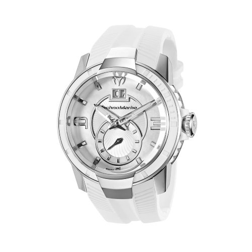 Technomarine - 609002 - Montre Mixte - Quartz Analogique - Bracelet Silicone Blanc