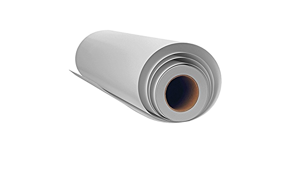 """Canvas Roll for Wide Format Inkjet Printer, Polyester Paper Roll for Epson  Canon HP Plotter 300gsm, 44"""" x 100' (110cm x 30m): Amazon.in: Office  Products"""