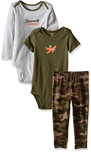 carter-set-da-mix-n-match-bambino-neonato-ragazzo-sul-serio-adorabile-body-e-pantaloni-set
