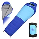 Down Mummy Sleeping Bag [1200g Down Fill] Zero Degree for [Adults Up 7'2]