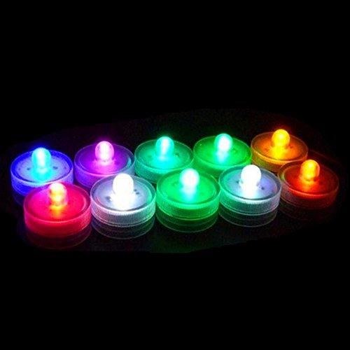 Saflyse unterwasser estanco Multicolor RGB LED lámpara luz Schwimmlichter Deko luces de...