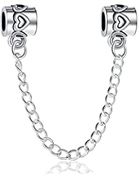 Carina Dangle Link Safety Chain Fits Pandora Bracelets