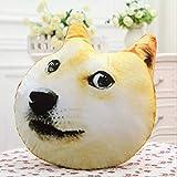 GELEGENHEIT Plüschtiere 3D Big Dog Kopfkissen Husky Odd Toy 40Cm Handwärmer (Nicht abnehmbar)